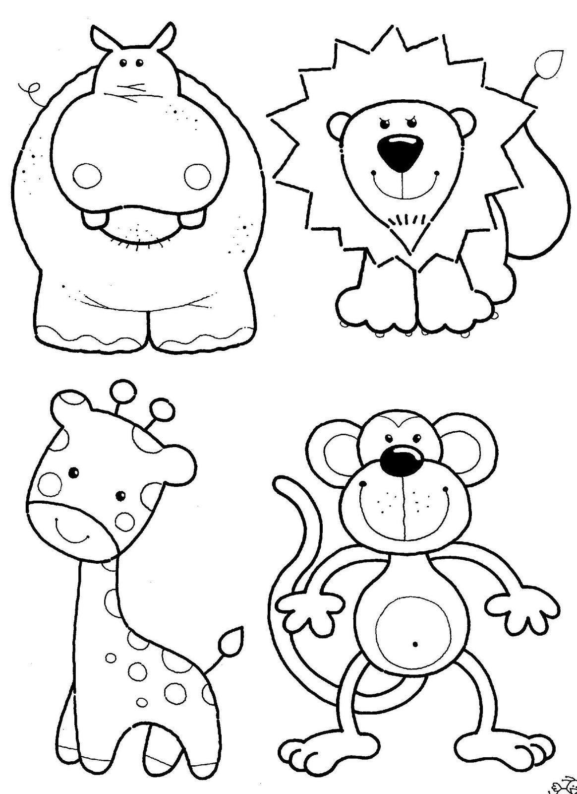 desenhos para colorir pequenas pegadas